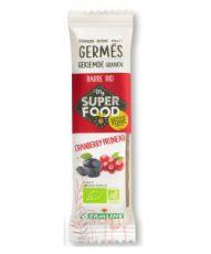 Barre de céréales germées : Cranberry - Pruneau