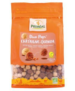 Duo Pops' châtaigne-quinoa BIO, 200g