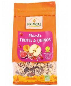 Muesli quinoa & fruits BIO, 350g