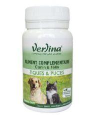 Ticks & Fleas - Feed supplement Dogs & Cats