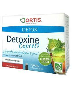 Détoxine Express BIO, 7fioles