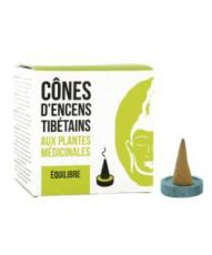 Cônes d'encens Tibétain - Equilibre
