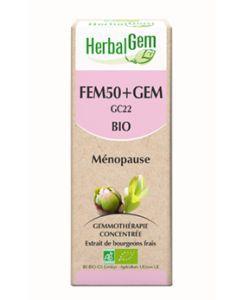 Fem50+Gem - Ménopause BIO, 50ml