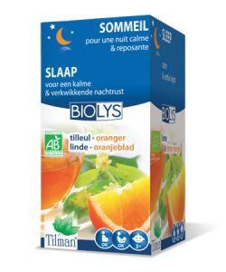 Infusion tilleul-oranger (Sommeil & calme) BIO, 20sachets