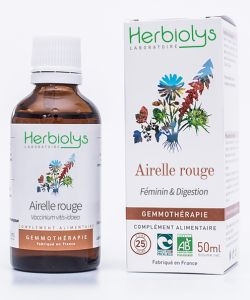 Airelle rouge (Vaccinium vitis-idaea) - bourgeons frais BIO, 50ml