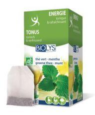 Infusion thé vert-menthe (Énergie)