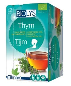 Infusion thym (Gorge irritée) BIO, 24 sachets