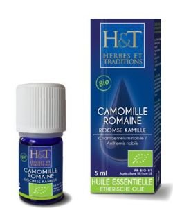 Camomille noble/romaine (Chamaemelum nobile/Anthemis nobilis) BIO, 5 ml