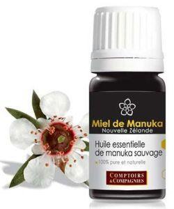 Huile essentielle de Manuka sauvage (Leptospermum scoparium), 5ml