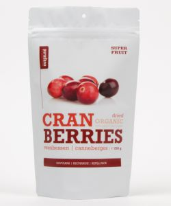 Canneberge (Cranberries) - Sachet refermable BIO, 200g