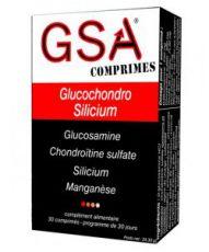 GSA comprimés - Glucochondro Silicium