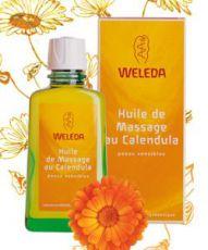 Huile de massage au Calendula