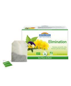 Infusions Elimination  BIO, 20 sachets