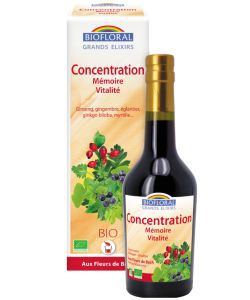 Elixir Concentration / Memory / Vitality BIO, 375 ml
