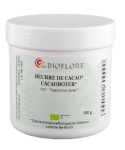 Beurre de Cacao brut (pastilles) BIO, 100g