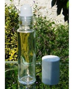 Flacon en verre avec applicateur à bille (roll'on), 10ml