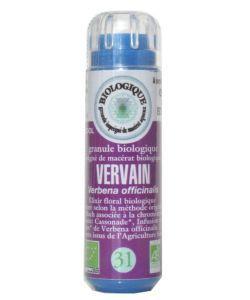 Verveine - Vervain (n°31) SANS ALCOOL BIO, 130granules
