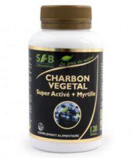 Charbon végétal super activé + myrtille