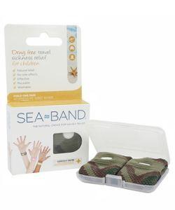 Bracelets Sea Band - Enfant (vert), 2bracelets