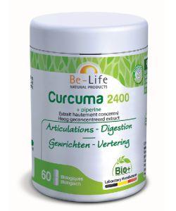Curcuma 2400 (+Piperine) BIO, 60gélules