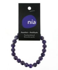 Bracelet perle Améthyste
