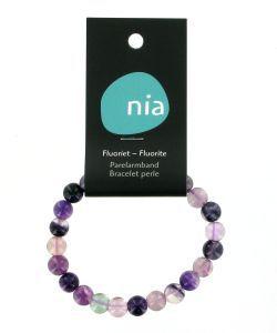 Bracelet perle - Fluorite, pièce