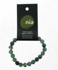 Bracelet perle - Agate Indienne