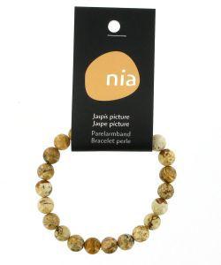 Bracelet perle - Image de Jaspe, pièce