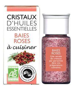 Cristaux d\'Huiles Essentielles - Baies Roses