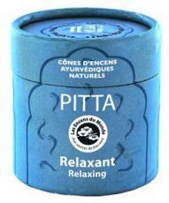 Pitta - Relaxant - Cônes d'encens Ayurvédiques naturels