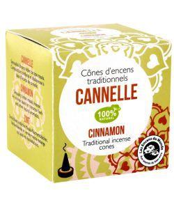 Cônes d\'encens indien cannelle - emballage abîmé
