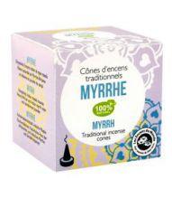 Cônes d'encens indien Myrrhe