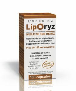 LipOryz - Huile de son de riz, 100capsules