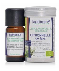 Citronnelle de Java huile essentielle (Cymbopogon winterianus) BIO, 10ml