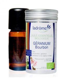Géranium bourbon (Pelargonium x asperum cv Bourbon) BIO, 10ml