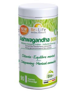 Ashwagandha 5000 (ginseng indien) BIO, 90gélules