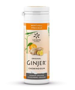 Chewing-gums Ginjer - Orange, 30g