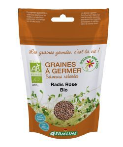 Graines à germer - Radis rose BIO, 100g