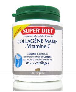 Collagène marin + vitamine C, 180comprimés