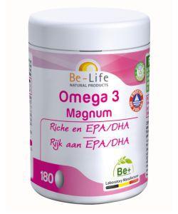 Magnum Omega 3, 180capsules