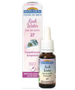 Eau de Roche - Rock water (n°27) BIO, 20ml