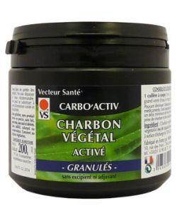 Carbo'Activ (granulés) - Charbon végétal Super Activé, 200g