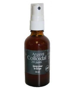 Spray pour la gorge Argent Colloïdal, 50ml