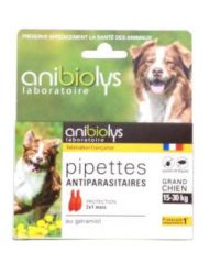 Pipettes antiparasitaires - Grand chien