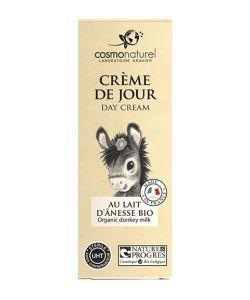 Crème de jour au lait d'ânesse BIO, 50ml