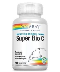 Super bio C tamponnée, 100capsules