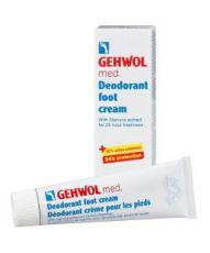 Crème déodorante pour les pieds