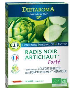 C.I.P. Radis noir - Artichaut Forté