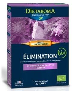 C.I.P. Elimination - Minceur - emballage abîmé BIO, 20ampoules