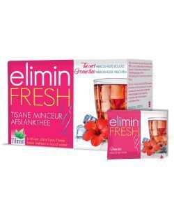 Infusion Elimin Fresh (minceur) - Hibiscus - Fruits rouges, 24 sachets